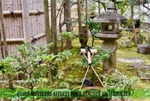Quels meilleurs astuces pour réaliser un jardin zen-Qu'est-ce qu'un jardin zen-