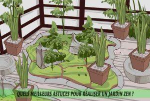 Quels meilleurs astuces pour réaliser un jardin zen-préparation du site