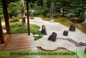 Quels meilleurs astuces pour réaliser un jardin zen-Le jardin zen traditionnel